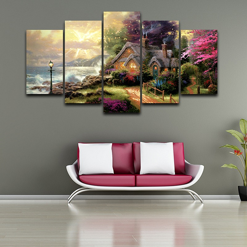 Artistic-Canvas-Print-Painting-Landscape-Pattern-HD-Printed-Classic-Oil-Painting-Drawing-room-wall-decor-bedroom (2)