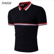 2018 Summer Men Polo Shirt Casual Cotton Men Polo Shirts black Solid Polo Shirts mens polo shirt brands European size S-2XL