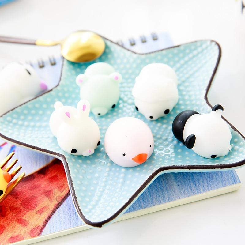 New 16 Pcs Mini Cute Mochi Animals 2
