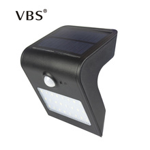 LED Solar Power Lamp PIR Motion Sensor Wall Light 24 LEDs Outdoor Waterproof Energy Saving Street Yard Path Garden Security Lamp(China)