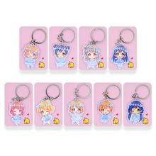 Buy Love Live Keychain 9 Styles Hanayo Nico Kotori Key Chains Pendant Hot Sale Custom made Anime Key Ring SS1 for $1.07 in AliExpress store