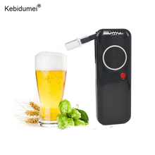 Kebidumei Professional Police Digital Breath Alcohol Tester Breathalyzer Analyzer Portable Alcohol Tester for Drive Safety(China)