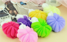 Bath sponge bath flower essential comfort ball bath brush bath ball toiletries ss198