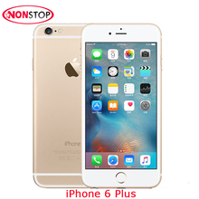 Unlocked Original Apple iPhone 6 Plus 16G 64GB 5.5 Screen IOS Smartphone WCDMA 4G LTE 8MP Camera Mobile Phone Used iPhone 6 Plus(China)
