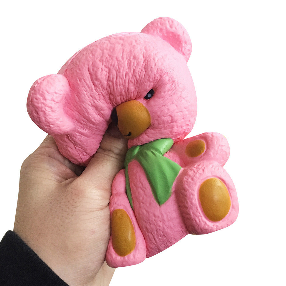 Color Change Super Soft Bear Squishy 4