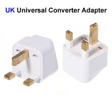 High Quality US EU AU To UK Plug Adapter United Kingdom Universal AC Travel Power Adapter Converter Outlet(China)