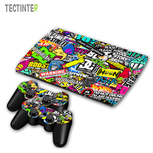 Bomb Vinyl Skin Sticker Cover For Sony PS3 Console with 2 Controllers Decal For Ps3 super slim 4000 Gamepad Joystick Accessories(China)