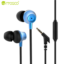 MOGCO In-Ear Earphone Phone MP3 MP4 Earphones Heavy Bass Sound Earbuds Wired Earpiece Game Headset audifonos For Xiaomi Sony(China)