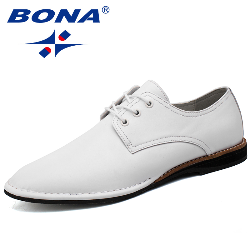 BONA New Arrival Fashion Style Men Casual Shoes Lace Up Men Shoes Comfortable Men Flats Light Soft Men Loafers Free Shipping<br>