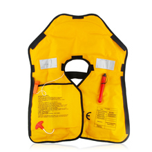 Automatic Inflatable Life Jacket Swimming Survival Drifing and Fishing 5 Seconds Quick Inflate Life Vest Safety Survival Suit