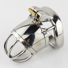 Buy Male Chastity Device Stainless Steel Cock Cage Sex Toys Super Small Adult Cock Ring Bondage Chastity Belt