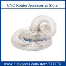 CNC Router Accessories D100mm Dust collector pipe size length 6000mm one piece(China)