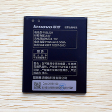 2016 New Original BL 229 BL229 Battery For lenovo A8 A806 A808T 2500mAh High Quality Mobile Phone Backup Batteria