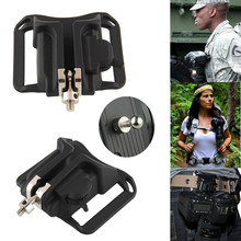 Camera Quick Release Belt Buckle Holster Waist Button Mount Clip for Canon Nikon Sony Pentax DSLR DV & Sports Camera