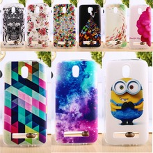 Soft TPU & Hard Plastic Phone Cover For HTC Desire 500 506E 5088 5060 Cases Colorful Fashion Pictures Mobile Phone Parts