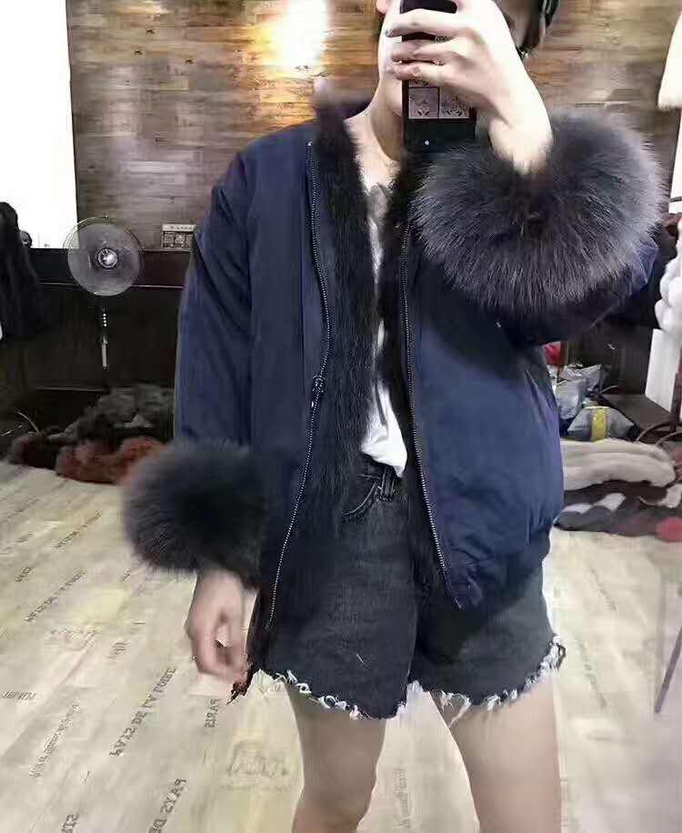 new styles fox fur jacket for women (36)