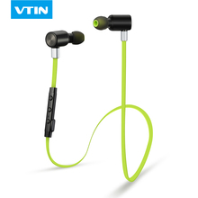 VTIN Bluetooth sport headphone wireless Bluetooth 4.0 Stereo sound outdoor Sports Earphone headphone headset With Microphone(China)