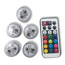 12pcs Free Shipping Frozen Party Decoration Small Coin Battery Operated Micro Mini Led Centterpiece Lights For Crafts