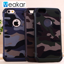 Camouflage Military Phone Case 4.0For iPhone 5S Case For Apple iPhone 5 iPhone 5S SE 5SE Cell Phone Back Cover Case(China)