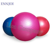 ENNJOI 5 Colors 55CM PVC Utility Yoga Balls Pilates Sport Fitness Yoga Balls with a Pump for Fitness Appliance Exercise  Home