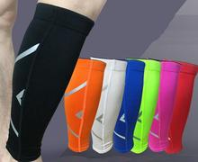 1Pair Men Women Cycling Leg Warmers Calf Support Shin Guard Base Layer Compression Running Soccer Football Basketball Leg Sleeve
