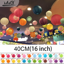 16inch 40cm wedding decorations paper lantern Events party supplier baby shower Chinese paper ball 1 PCS freeshipping