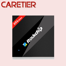 1PC H96 Max 4GB/32GB Rockchip RK3399 Six Core Android TV Box 2.4G/5.8G Dual WiFi H.265 BT4.0 H.265 USB3.0 Type-c Media player