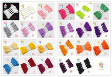 7m Multi colors option anchor cross stitch embroidery cotton embroidery thread 6pcs/lot 20050028(D6)