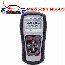 2016 Latest Design MaxiScan MS609 OBDII/EOBD Scan Tool Diagnosis For ABS Codes MS 609 Fast Shipping