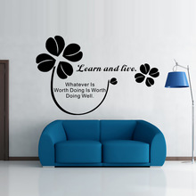 The new AW9086 English proverbs bedroom living room decorative wall stickers manufacturers wholesale custom(China)