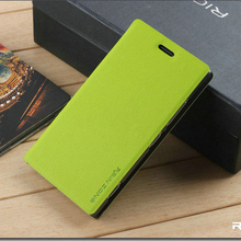 4Color Brand Leather Case Best Quality Fashion Cheap Flip Stents Phone Cover For Nokia Lumia 730 735 Wholesale Discount(China)