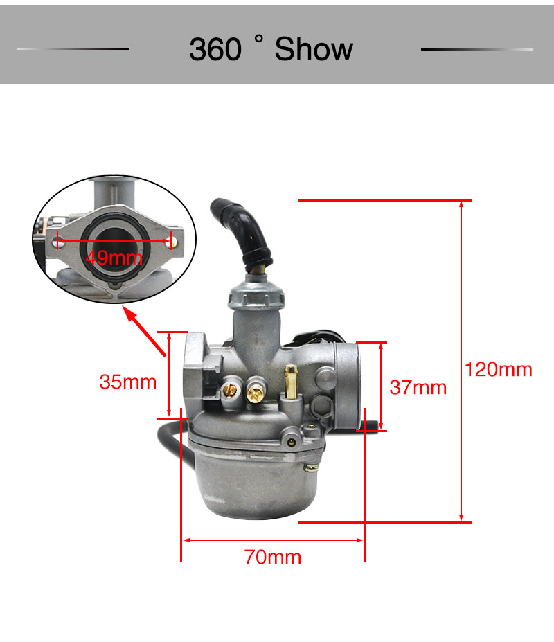 USA! 35mm Air Filter Cleaner For 50cc 70cc 90cc 110cc Kazuma Redcat Eagle Lifan