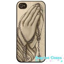 Praying hands rosary beads religious cross Case Cover for iphone 5s 5c SE 6 6s 6plus 7 7plus Samsung galaxy note7 s3 s4 s5 s6