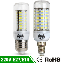 E27 E14 Led Bulbs Light Lamps SMD5730 220V 7W 12W 15W 18W 20W LED Corn Led Bulb Christmas lampada led Chandelier Candle Light