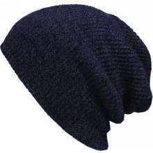 2017 Winter Slouch Skull Oversize Hat Men Long Beanie Women Knit Baggy Cap Crochet Knitted Ski Hats