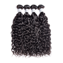 Brazilian Water Wave Bundle Remy Hair Can Buy 3 or 4 Bundle 10-28 Mi Lisa Hair Extension 1 Pc Only Hair Weave Human Hair Bundles(China)