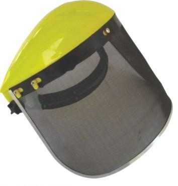 Labor supplies wholesale polished explosion-proof wire mesh mask mask protective mask mowing yellow box<br>