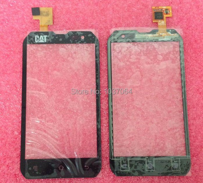 Touch Screen digitizer For Caterpillar CAT B15 or B15Q Black free shipping<br><br>Aliexpress