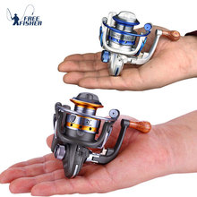 10BB 5.5:1 Mini Fishing Reel Metal Coil Ultra Light Small Spinning Reel Right/Left Fishing Rod Wheel Molinete Pesca(China)