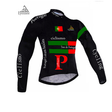 Tour de Portugal cycling jersey / Eyessee long-sleeve bicycle clothing ciclismo / 2017 MTB racing long-sleeve cycling clothing(China)