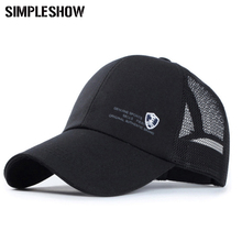 New 2017 Fashion Baseball Cap Snapback Caps Brand Caps Mesh Summer Sun Hats Casual Breathable bone casquette gorras Women Men F