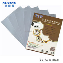 Suntek Water Slide Decal Transfer Paper For Wood Print By Laser Printer White Color On Dark Background