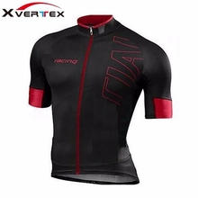 SL PRO Expert racing team clothing 2017 Summer Quick Dry bicycle ride wear RED BLACK short sleeve cycling jersey ropa ciclismo