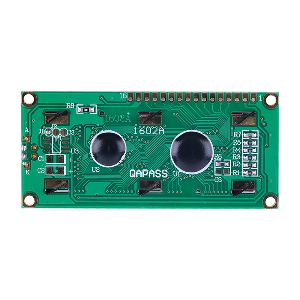 Connectors 1Pc 1602 16x2 HD44780 Character LCD Display Module Blue Blacklight Newest<br><br>Aliexpress