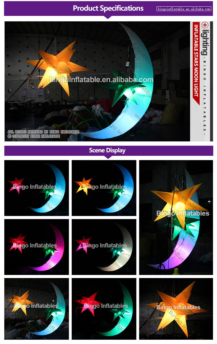 BG-L0009-inflatable-stars-moon-light-bingoinflatables