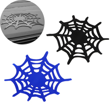 Anti-slip Mat Spider Web Silicone Grip Pad Car Mobile Phone Holder Non Slip Sticky Dash Sheet Key Sunglasses Coin Organizer(China)