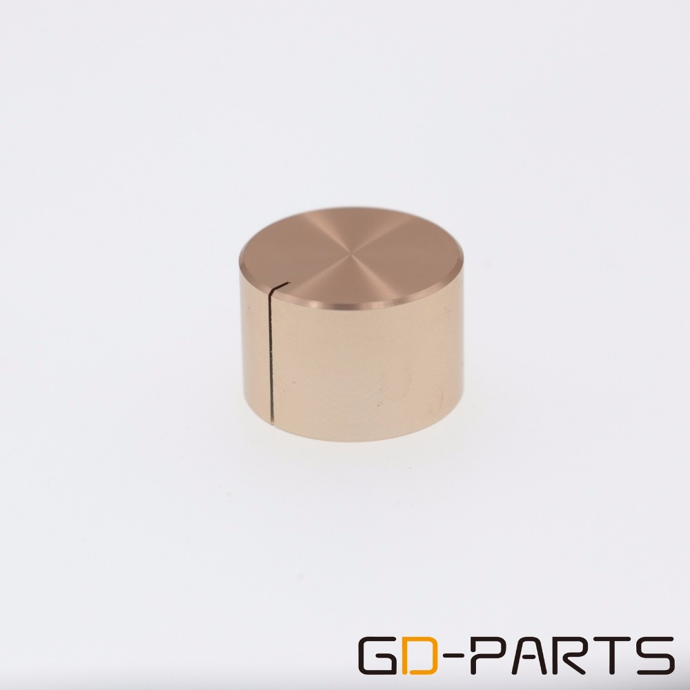 5 PCS Aluminum Knob 30*17mm Cap Rotary Switch CD Player Volume Pointer Hole 6mm