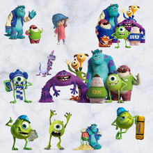 5 Style cartoon Monsters University wall stickers  for kids rooms Disney DIY removable pvc wall sticker home decor hot sale