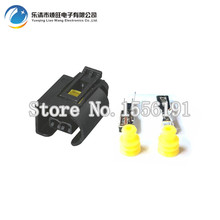 10 pcs Waterproof automotive connectors 2 holes for BMW plug with side wall DJ7025-3.5-21(China)