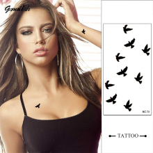 HC73-New Design Fashion Temporary Tattoo Stickers Temporary Body Art Waterproof Tattoo Pattern
